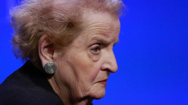 Prosecutors brand Madeleine Albright's NGO as undesirable in Russia