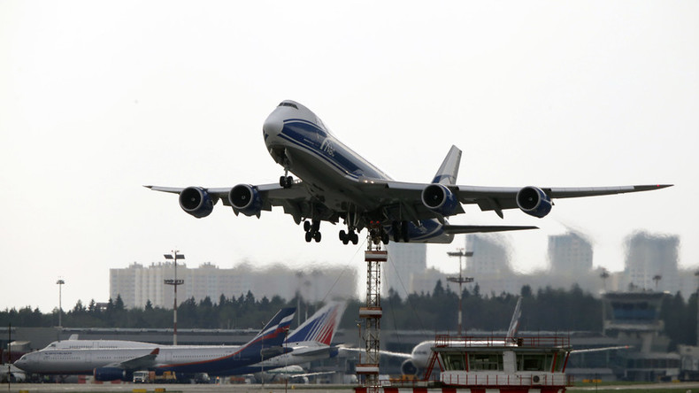 Russian air travel up first time since September