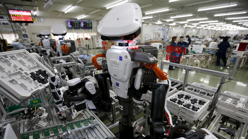 Thanks a lot, Mr. Robot: Americans see rise in robot workforce, but say their jobs are safe