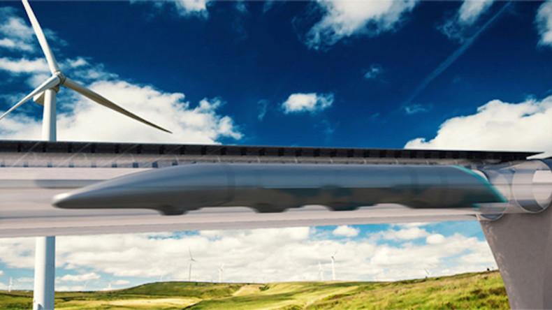 High-speed 'Hyperloop' could transport passengers between 3 European cities in minutes