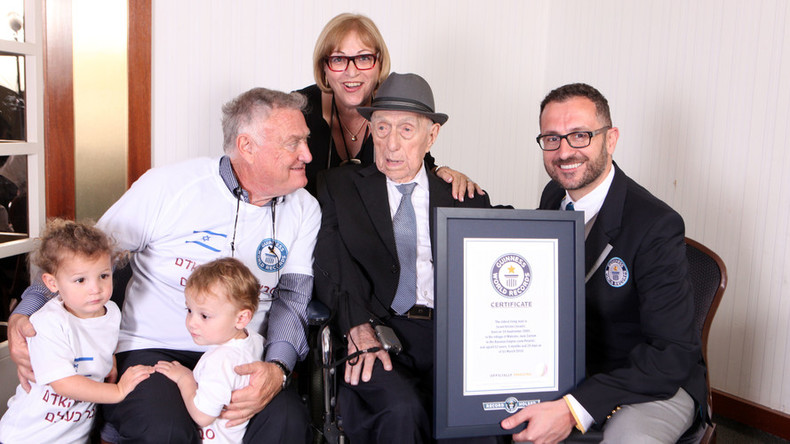 'I don't know the secret': Holocaust survivor named 'world's oldest living man'