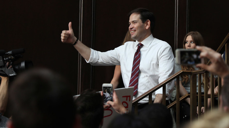 'Harder every day': Rubio begins to backtrack on pledge to support Trump as GOP nominee