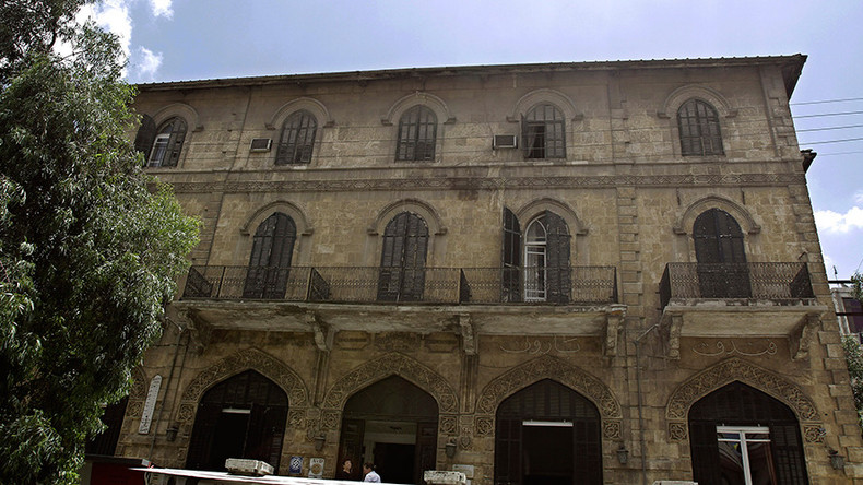 Once hosting Lawrence of Arabia & Agatha Christie, Aleppo's iconic hotel now shelters refugees