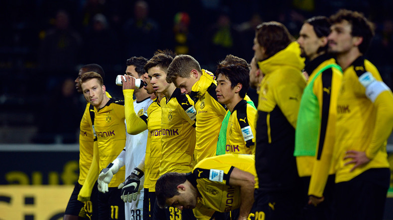 Fans & players pay tribute after Borussia Dortmund Westfalenstadion tragedy