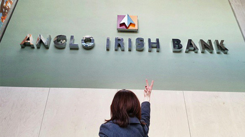 Busted: Ex-boss of toxic Irish bank faces court after 7-year exile