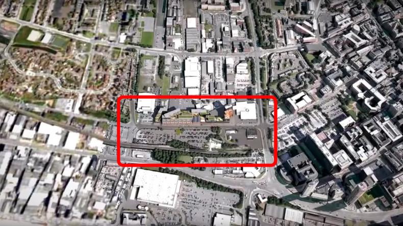 WW2 bombs cause panic at Liverpool skyscraper site (PHOTOS, VIDEO)