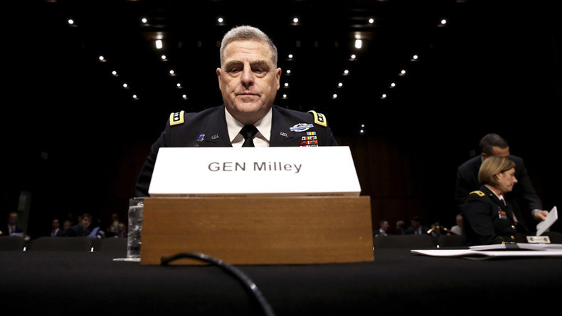 Top US general warns Congress military unprepared for 'great power war' while fighting terrorism