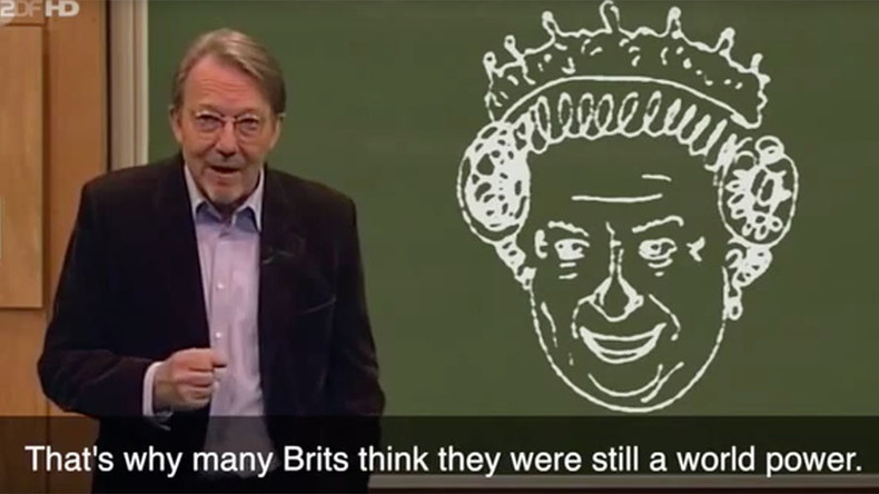 German comedians mock Brexit, call Queen 'ancient horse faced grandma' (VIDEO)