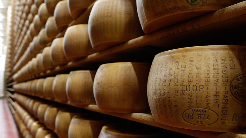 Parmesan cheese returning to Russian market