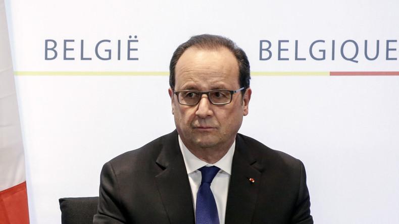 'Many more Paris attack accomplices still at large' after Abdelsam's arrest, Hollande says