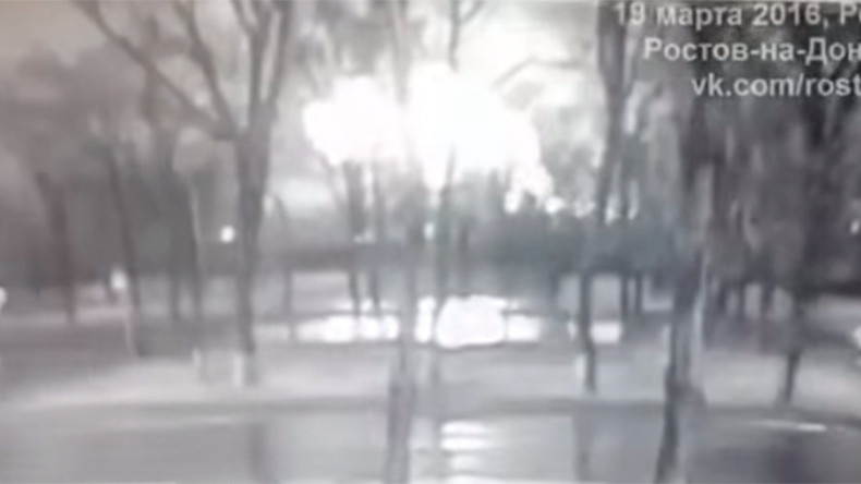 Boeing-737 crash: Moment Flydubai jet goes down caught on CCTV (VIDEO)