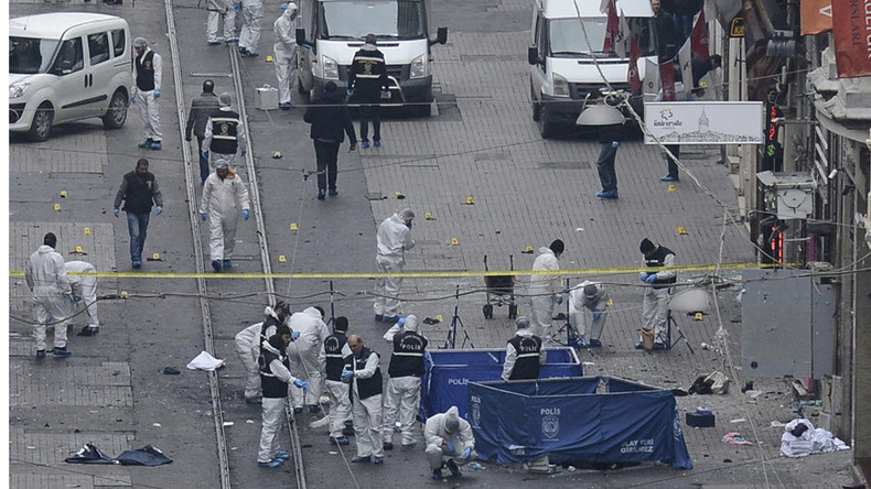 Istanbul suicide bomber identified as ISIS member – Turkish interior minister