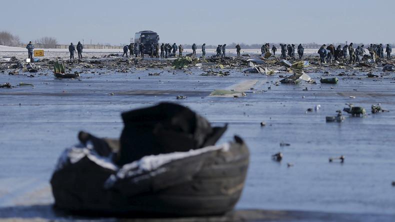 360 VIDEO of Flydubai crash site in Rostov-on-Don Airport