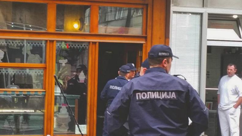 Suicide bomber detonates hand grenade inside Belgrade bakery — RT World News