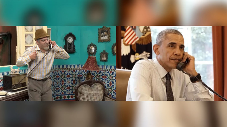 Cuban comic says Obama changed script, added Cuban slang to phone call skit (VIDEO)