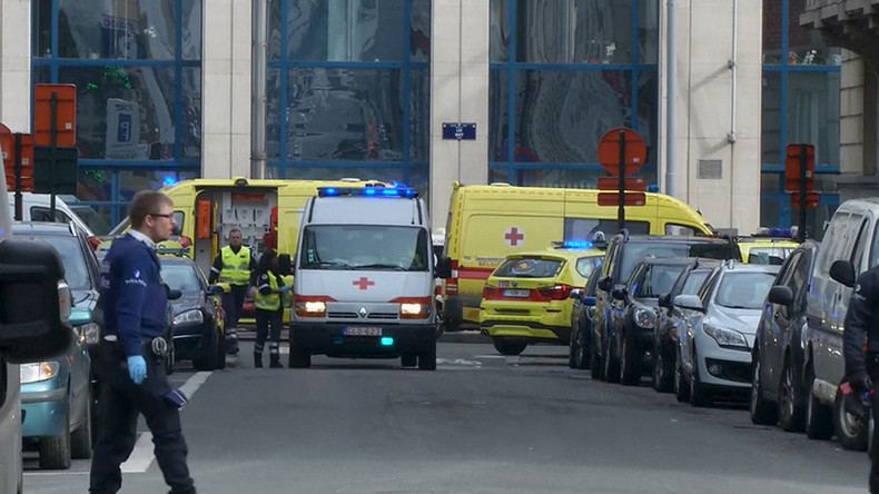Security tightened across EU, Brussels on lockdown after explosions at airport & Metro (VIDEO)