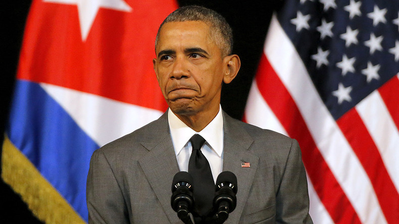 Obama addresses Brussels terror attacks, calls on Congress to end Cuban embargo