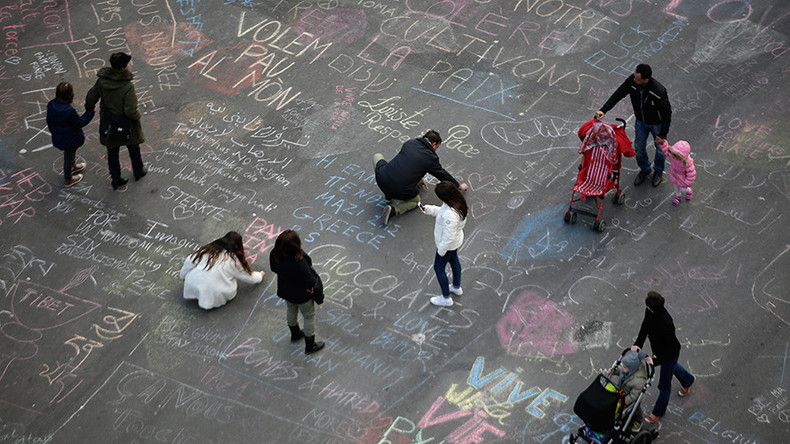 Solidarity amid terror & grief: Brussels square filled with heartwarming messages, rooms offered