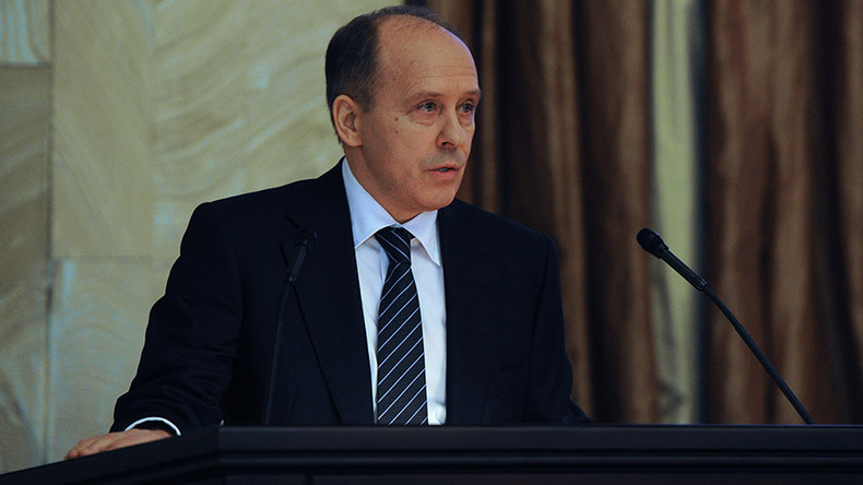 FSB chief says terrorist threat in Russia 'under control'