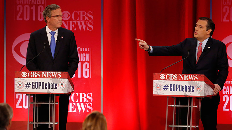 'Anti-Trump' Jeb Bush backs Ted Cruz for president