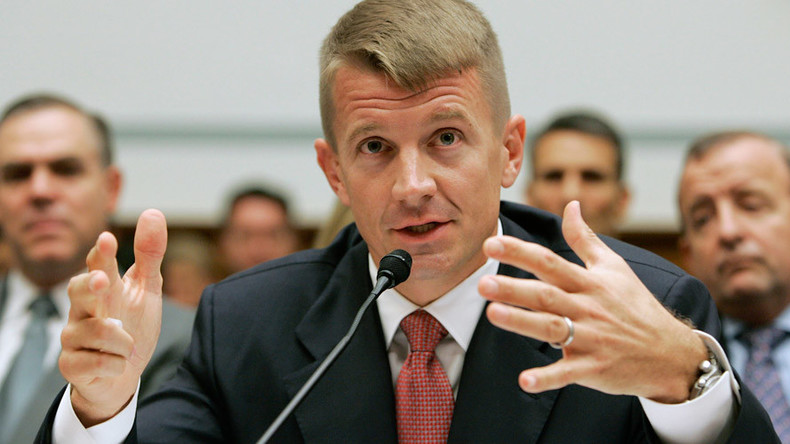 Ex-Blackwater 'no sh*t' mercenary Erik Prince feels wrath of US Justice Dept, reports The Intercept