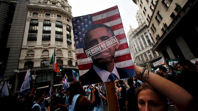 'Liars and hypocrites': Obama expresses regret for US policies during Argentina's 'Dirty War'