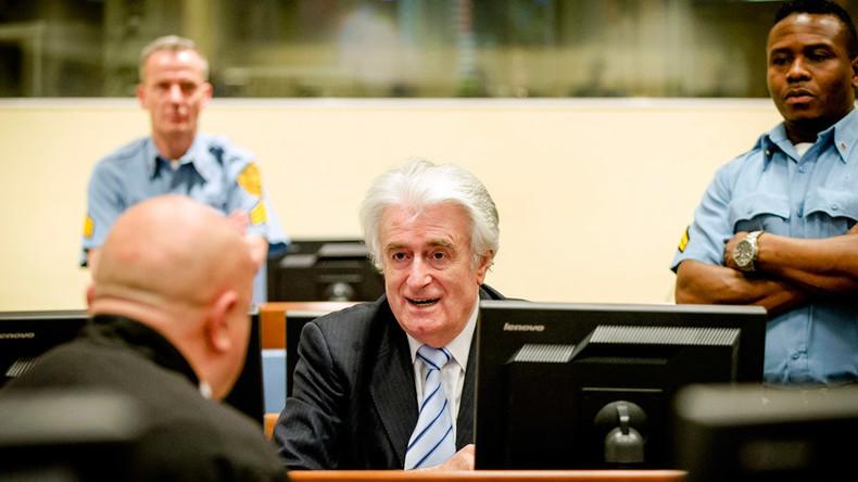 Kangaroo court convicts Karadzic