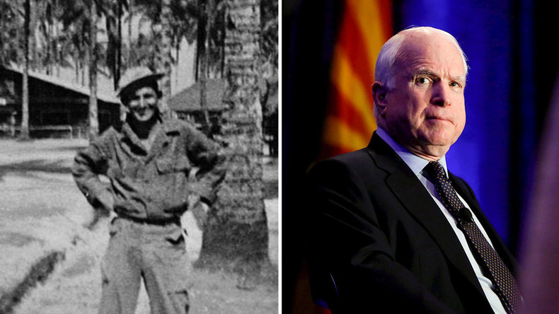 Last Lincoln Brigade member receives unlikely tribute from US Sen John McCain