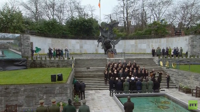Easter Rising 100 Years On: Relatives of 1916 veterans honor Ireland's revolution