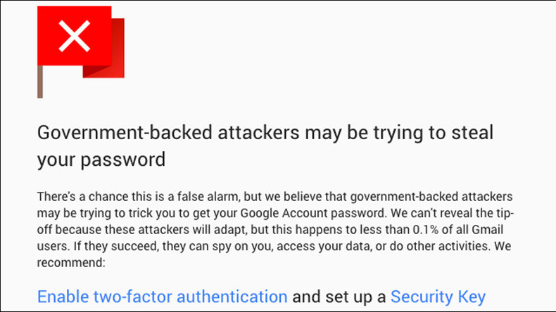 Google upgrades warnings to alert users to when Big Brother is watching