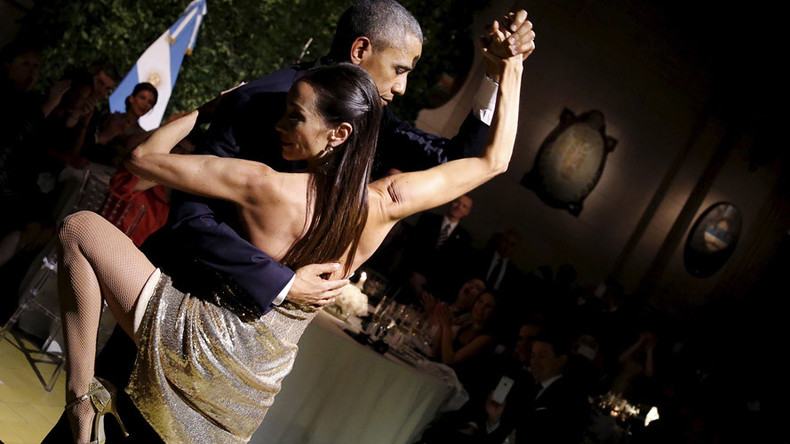 Obama's tango with history in Cuba and Argentina