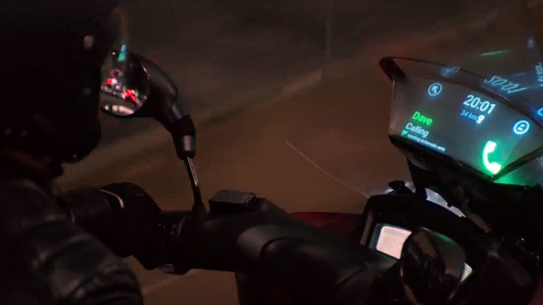 'Smart Windshield' for motorbikes - worst safety feature ever? (VIDEO, POLL)