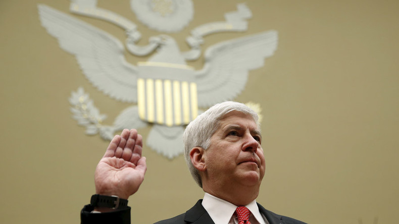 Michigan residents begin recall petition drive against Gov. Snyder over Flint water crisis