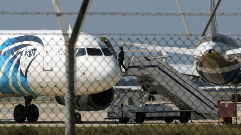 EgyptAir flight MS181 hijacked, diverted to Cyprus