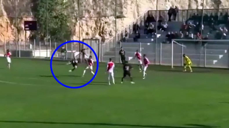 French teenager scores incredible goal of the season contender (VIDEO)