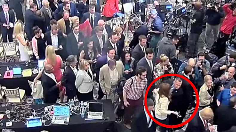 Trump campaign manager arrested for assaulting Breitbart reporter