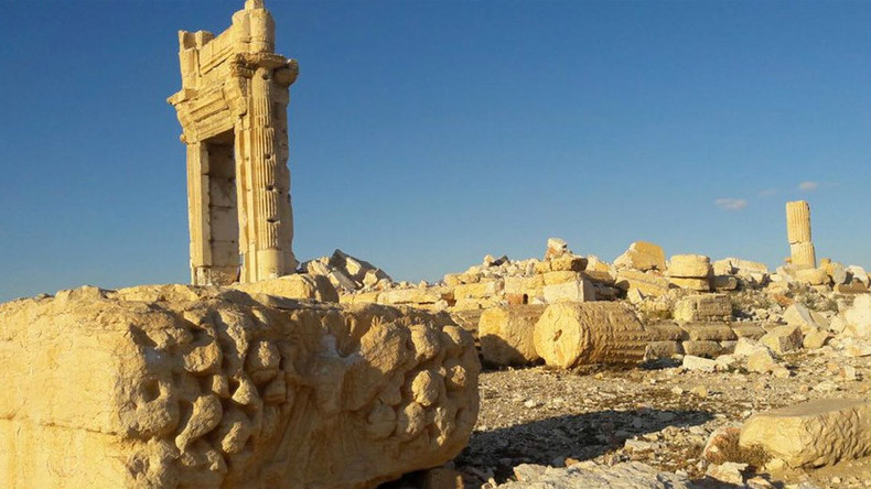 Palmyra's amazing but sad images fresh from RT correspondent