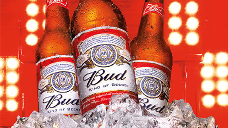 Budweiser sales surge in Russia despite struggling beer market