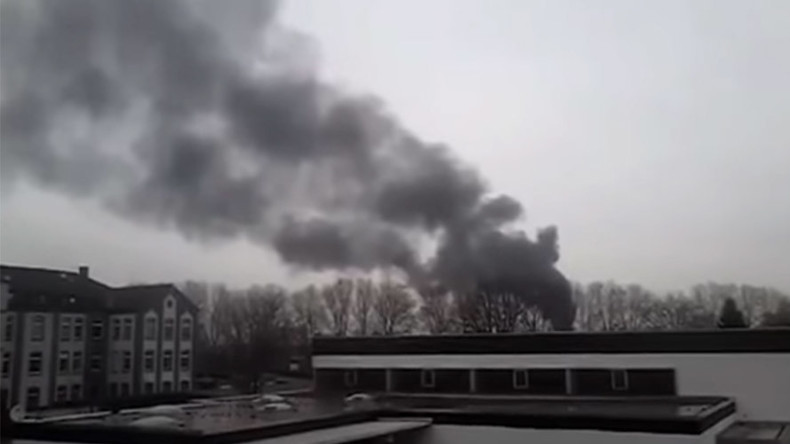At least 2 dead in tanker explosion in Duisburg shipyard, Germany (PHOTOS, VIDEO)