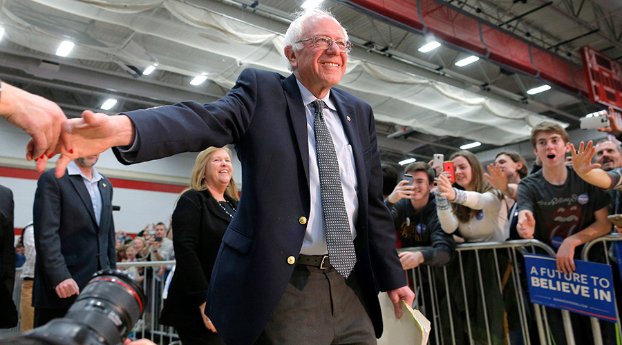 Sanders raked in $42mm in February, twice his January haul