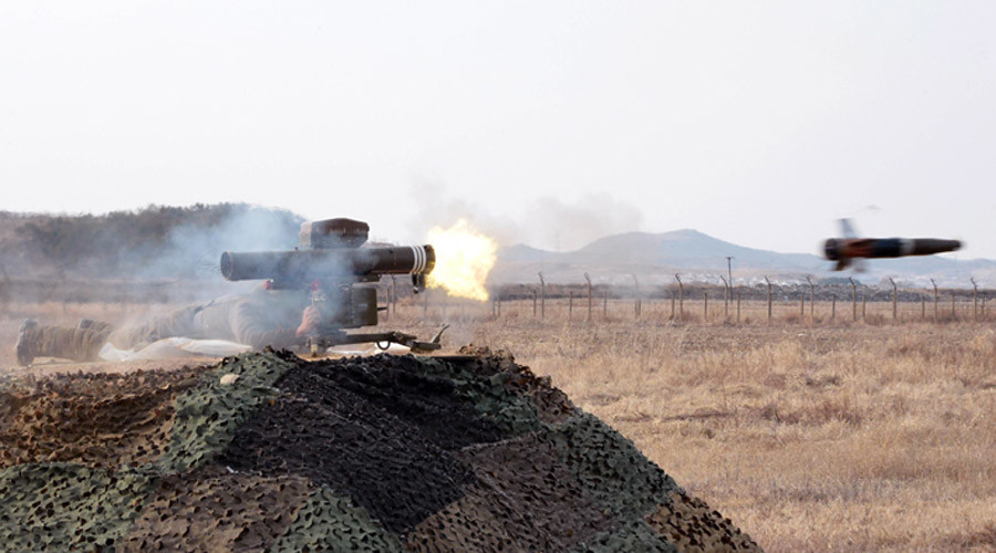 N. Korea claims test of laser-guided anti-tank missile