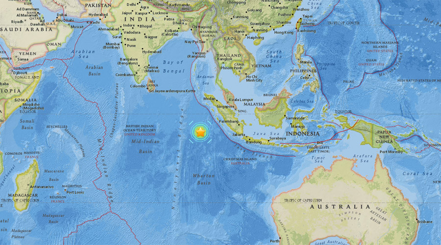 Deaths reported after 7.8 quake strikes off Indonesia, tsunami warning issued