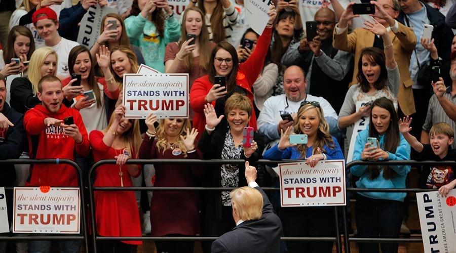 White supremacist radio show got press credentials from Trump campaign