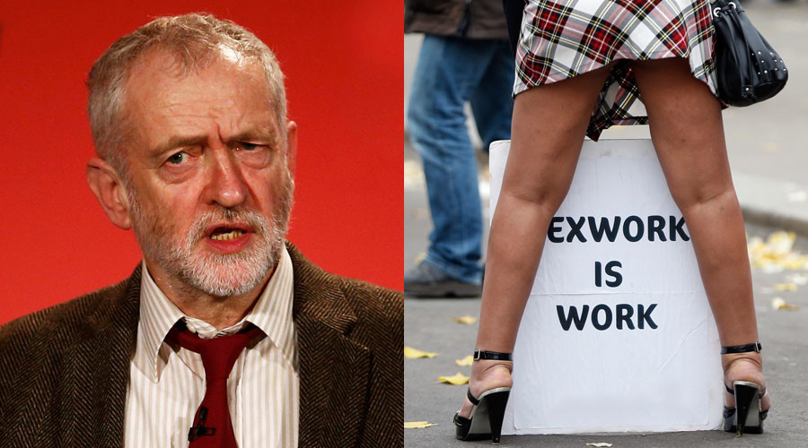 Sex industry should be decriminalized, says Corbyn