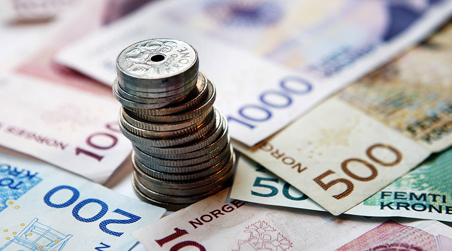 Norway uses money from its 'rainy day' fund