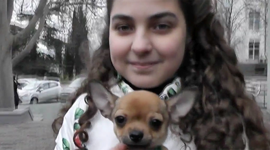 Need a dog? Write to Putin: Girl gets pooch after asking Russian president