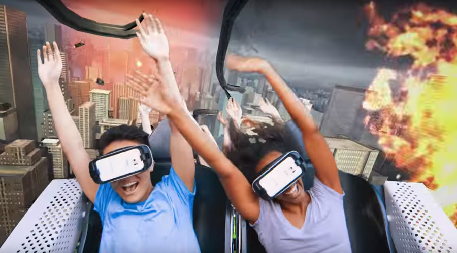 Blood-rush: Virtual reality brings white knuckle rollercoasters to another dimension