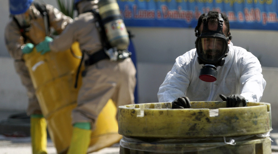 Breaking Bad style: Mexico police find human remains in acid barrels