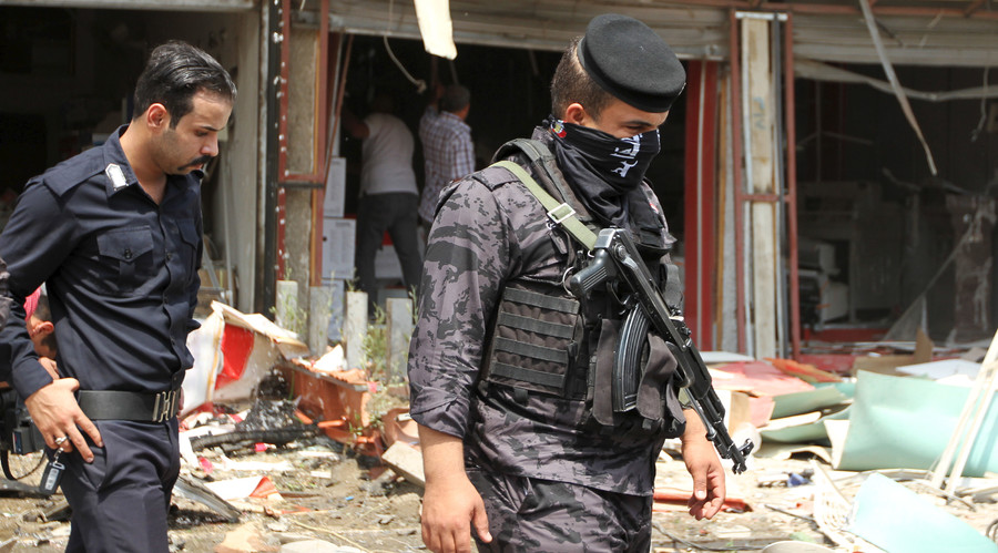 60 killed in ISIS suicide truck bomb attack south of Baghdad - police
