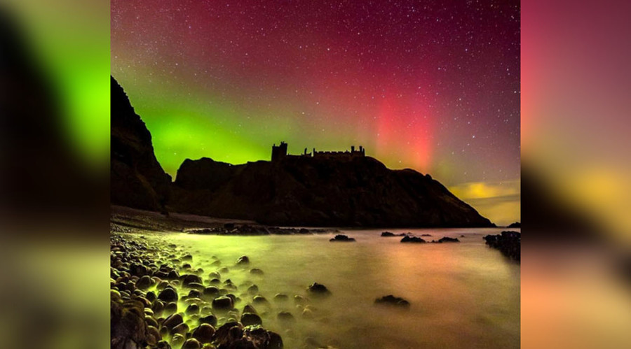 Northern Lights make spectacular rare appearance in UK & Ireland (PHOTOS, VIDEO)